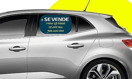 CARTEL se vende tipo pizarra | La solución para anunciar o vender tu coche | escribe y borra | incluye rotulador