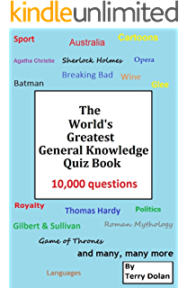 12,000 Bumper General Knowledge Quiz Questions: By Field