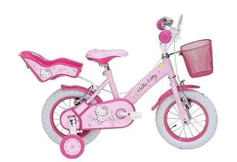 Hello Kitty Bici Bimba 12 Pollici Romantic Pink Bicicletta 2 3 Anni
