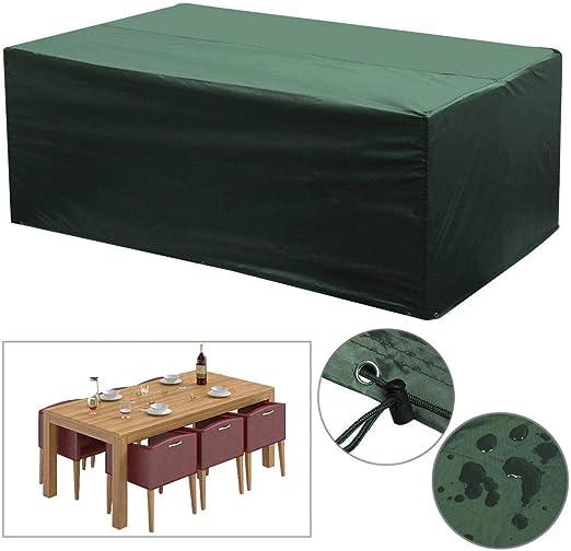 Popamazing – Funda impermeable para muebles de jardín patio Juego ...