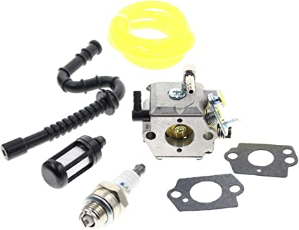 Stihl 028 028AV 028AVS Super Tune up Carb kit NGK plug Impulse /& Fuel hose