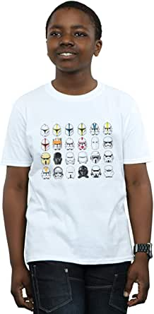 Star Wars Niños Trooper Helmets Camiseta