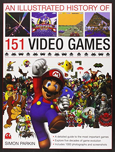 An-Illustrated-History-of-151-Video-Games-A-detailed-guide-to-the-most-important-games-explores-five-decades-of-game-evolution
