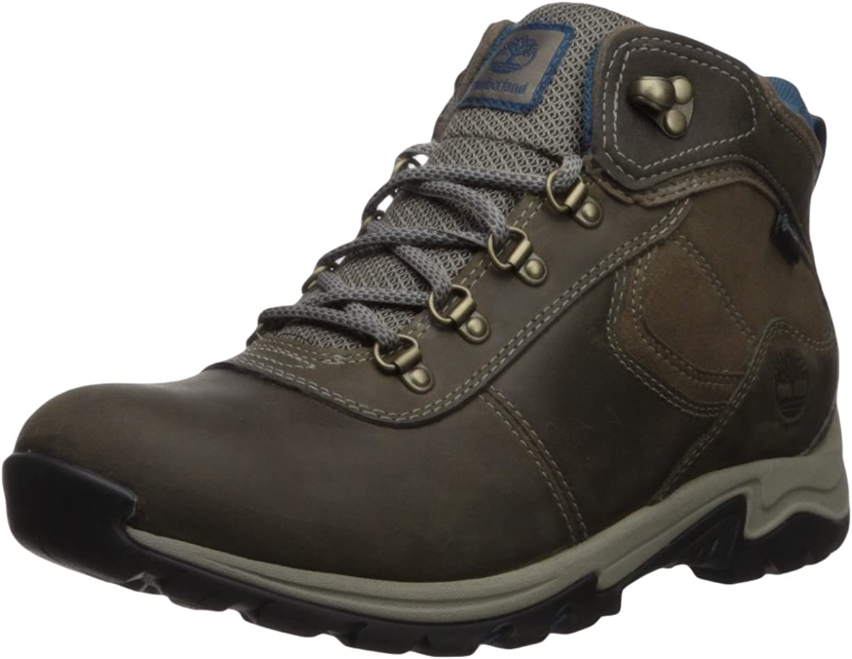 Timberland Women s Mt Maddsen Mid Leather Waterproof Hiking Boot