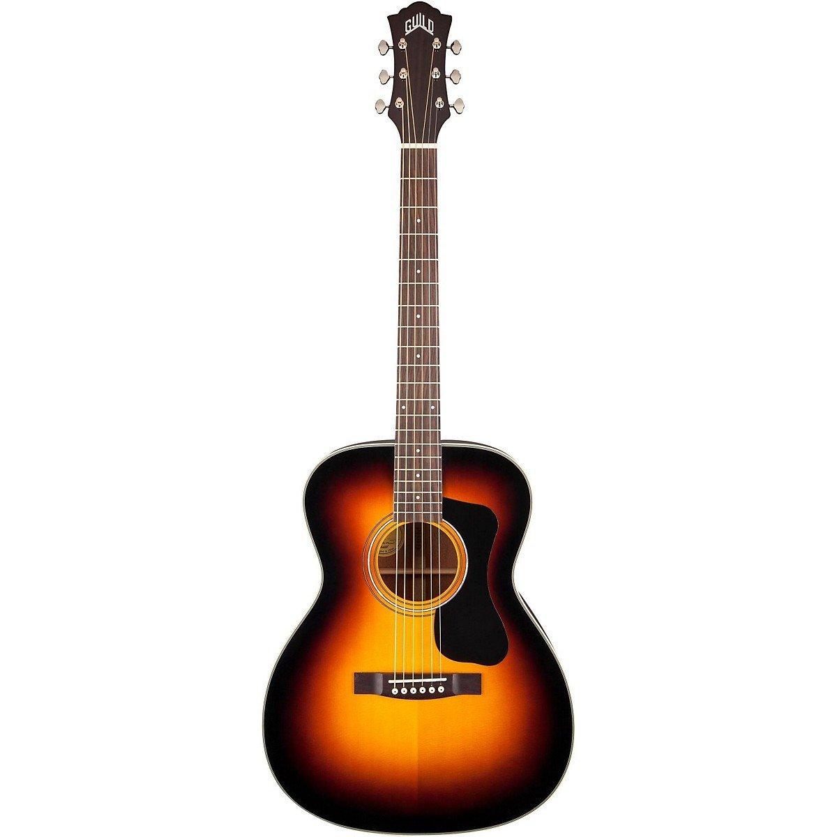 Amazoncom Guild GAD F130 Orchestra Size Acoustic Guitar