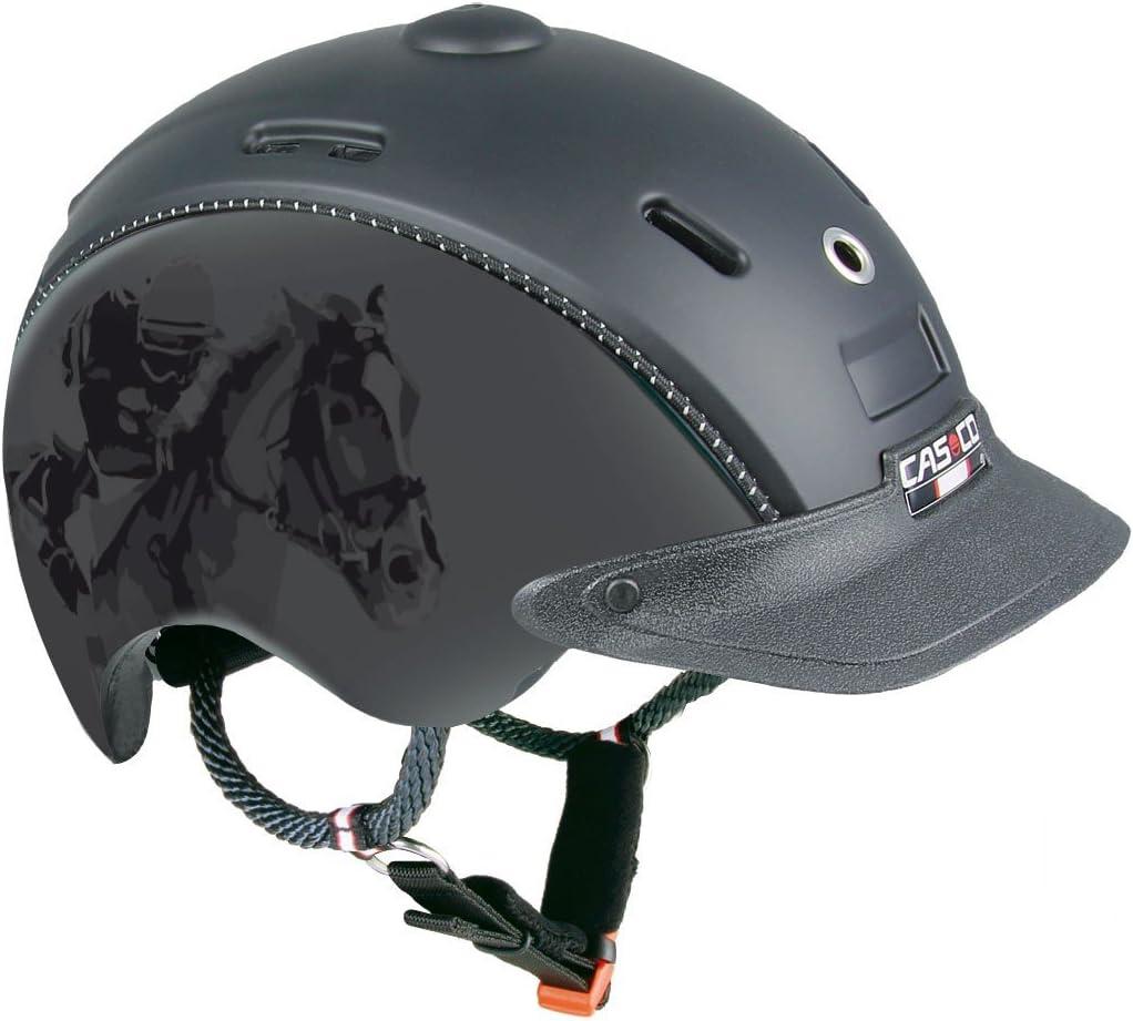 Casco reithel mchoice Negro Titanio Jockey decorativo de talla u 50 – 52 cm: Amazon.es: Deportes y aire libre