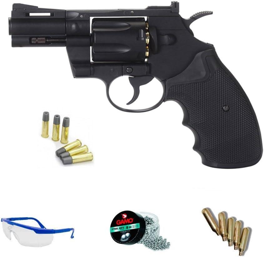 KWC Pack revólver de Aire comprimido 357 2,5