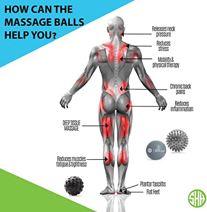 Round EPP Massage Ball Lightweight Fitness Body Massage Yoga Exercise Ball HU