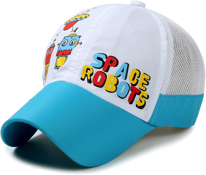 LONIY Plain net Cap Casual Children Mesh Baseball caps Outdoor Sunshade Cap Sunhat Sport Run hat for Boys Girls