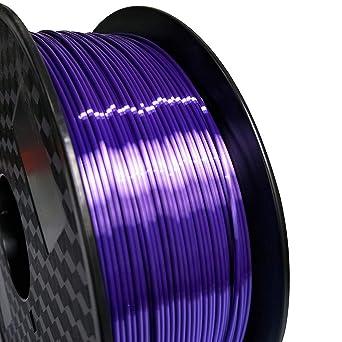 Filamento de impresora 3D PLA 1,75 mm morado sedoso - Silk ...