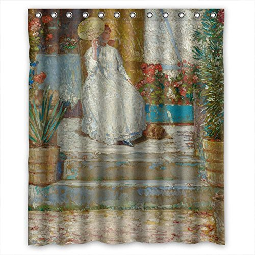 Cosbudy Bathroom Curtains Of Louis Anquetin - In The Sun Polyester Width X Height / 60 X 72 Inches / W H 150 By 180 Cm Best Fit For Kids (Louis Bullock Halloween)