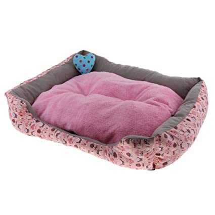 perfk Cojín Saco Dormir Sofá Cama Perro Gato Accesorios Colocar Jaula Casa de Mascota Conveniente Cómodo