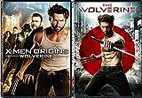 The Wolverine & Wolverine X-Men Origins DVD Marvel Super Hero power Marvel Comics Bundle Set