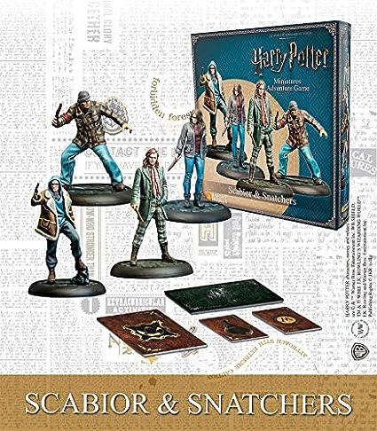 Knight Models Juego de Mesa - Miniaturas Resina Harry Potter Muñecos Scabior and Snatchers Spanish: Amazon.es: Juguetes y juegos