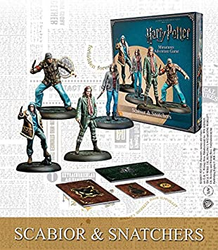 Knight Models Juego de Mesa - Miniaturas Resina Harry Potter Muñecos Scabior and Snatchers Spanish: Amazon.es: Juguetes y juegos