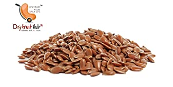 Dry Fruit Hub Flax Seed 3omega Golden Seed Alsi 500gms For Hair
