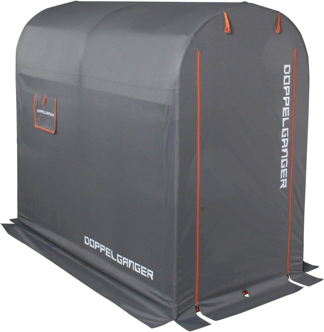 DOPPELGANGER(ドッペルギャンガー) ストレージバイクガレーDCC330M-GY
