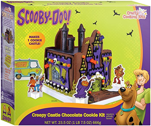 Crafty Cooking Kits Scooby Doo Creepy Castle Cookie, Chocolate, 20 Ounce (Cookie House Kit)