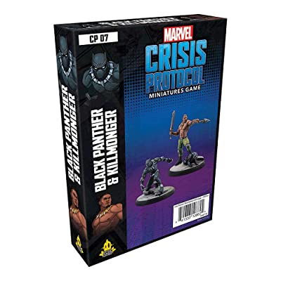 Marvel Crisis Protocol: Black Panther and Killmonger: Toys & Games