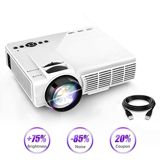 AI LIFE Mini Video Proyector Pantalla 1080P y 170 Compatible ...