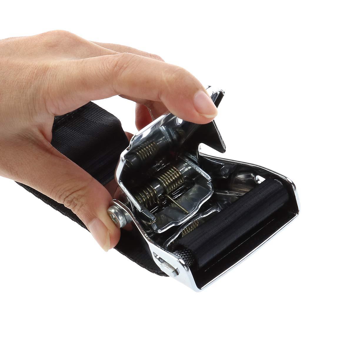 Pixnor/® Universal Flugzeug Airline Flugzeug EXTRA LANG Sicherheitsgurt Extender Verl/ängerung Schnalle verstellbar