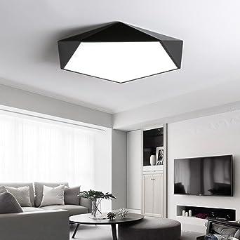 Leohome Dimmbare LED Deckenleuchten Design kreative Geometrie ...