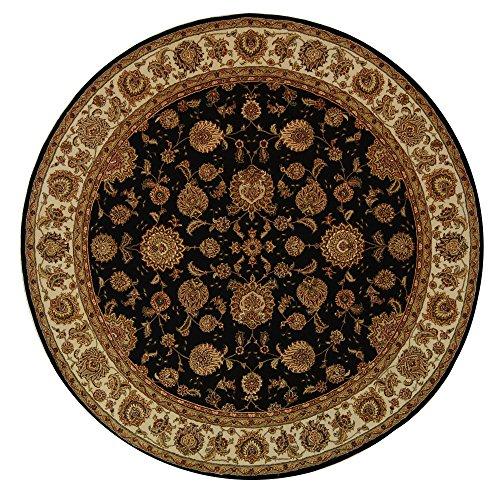 Court Runner Area Rug (Safavieh Persian Court Collection PC123B Handmade Plum and Ivory Wool Round Area Rug (8' Diameter))