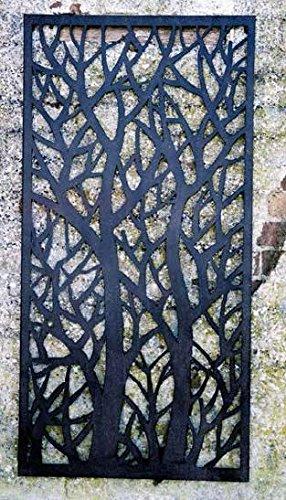 Decorative Tree Garden Wall Fence Panel 120cm H X 60cm W