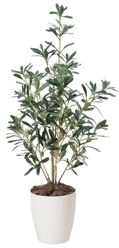 光触媒 人工観葉植物 光の楽園 オリーブ 1.6m 148C550 B01IGBWX86 1.6m  1.6m