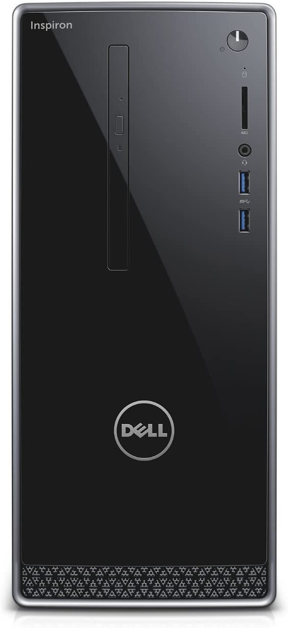 Dell Inspiron 3650 Tower Business PC, Intel Quad Core i5-6400 up to 3.3GHz, 8G DDR3L, 256G SSD, VGA, HDMI, Windows 10 Pro 64 Bit-Multi-Language Supports English/Spanish/French(Renewed)