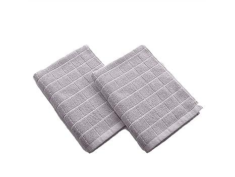 AHIMITSU Toalla acogedora Kid Cotton Absorbent Wash Toalla para la Cara Toalla para bebés Saliva Childrens