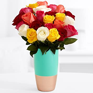 Colored Gl Flower Vase on pa flower, sc flower, mn flower, dz flower, va flower, uk flower, ls flower, sd flower, ca flower, na flower, ve flower, vi flower,
