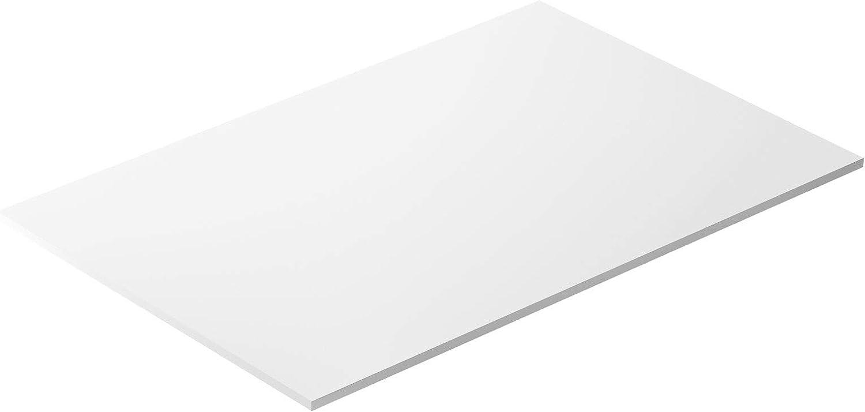 Plastic HDPE Sheet 36 x 24 Inch, 0.5