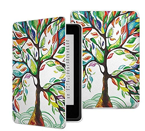 Amazon Ereader Covers and Cases for All- Amazon Kindle Paperwhite, Case for Kindle Paperwhite With the Thinnest and Lightest PU Leather Cover Auto Sleep Wake