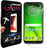 Compatible with Moto G7 Power Screen Protector Foils, (2 Pack) 9H Hardness Tempered Glass Film for Motorola Moto G7 Power
