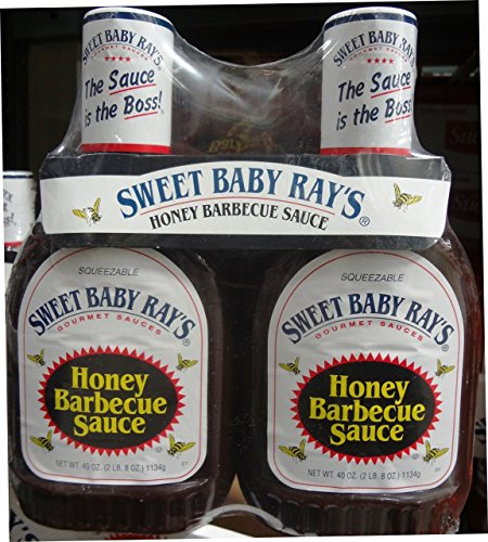 Sweet Baby Ray's Honey Barbecue Sauce 2/40 Oz Bottles