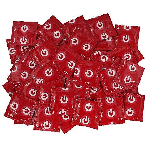 ON) condones - condones con sabor a fresa - 100 condo