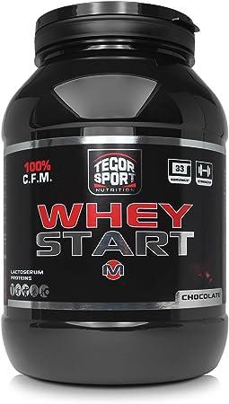 Tegor Sport Whey Start Chocolate - 1000 gr: Amazon.es: Salud ...