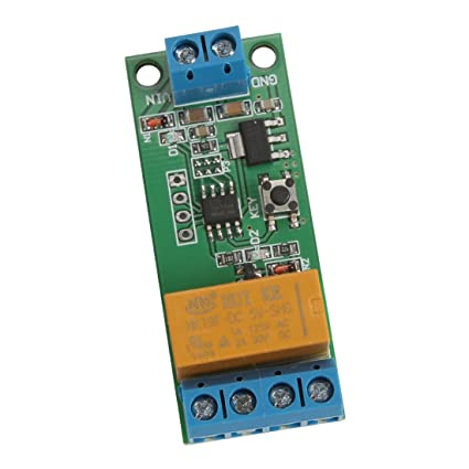 Vanki 5V 6V 9V DC Motor Reverse Polarity Cyclic Timer Switch Time Repeater  Delay Relay 1pcs