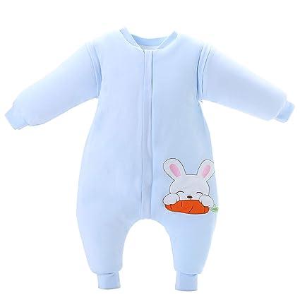 Saco de dormir para bebé de invierno de algodón grueso con forro cálido saco de dormir