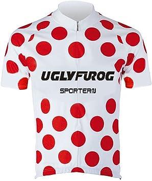 Uglyfrog Ropa Ciclismo Maillot Manga Corta Spinning Carretera ...