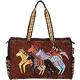 Laurel Burch Travel Bag Zipper Top 20-1/2