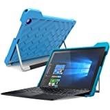 Gumdrop Cases Droptech for Acer Aspire Switch Alpha 12 Rugged 2-in-1 Tablet Case Shock Absorbing Cover Light Blue/Royal Blue SA5-271