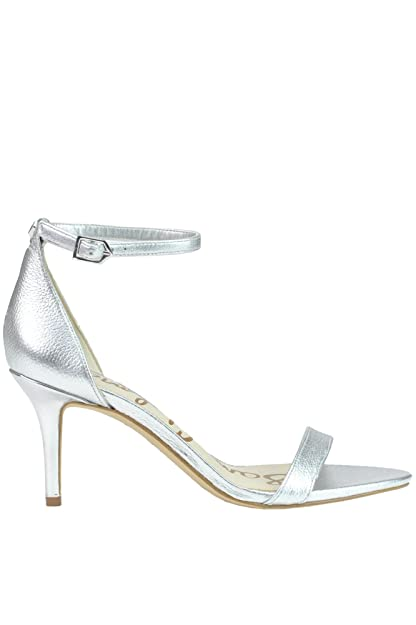 d93b25bf51c Sam Edelman Sandalias de Vestir Para Mujer Plateado Plata It - Marke Größe