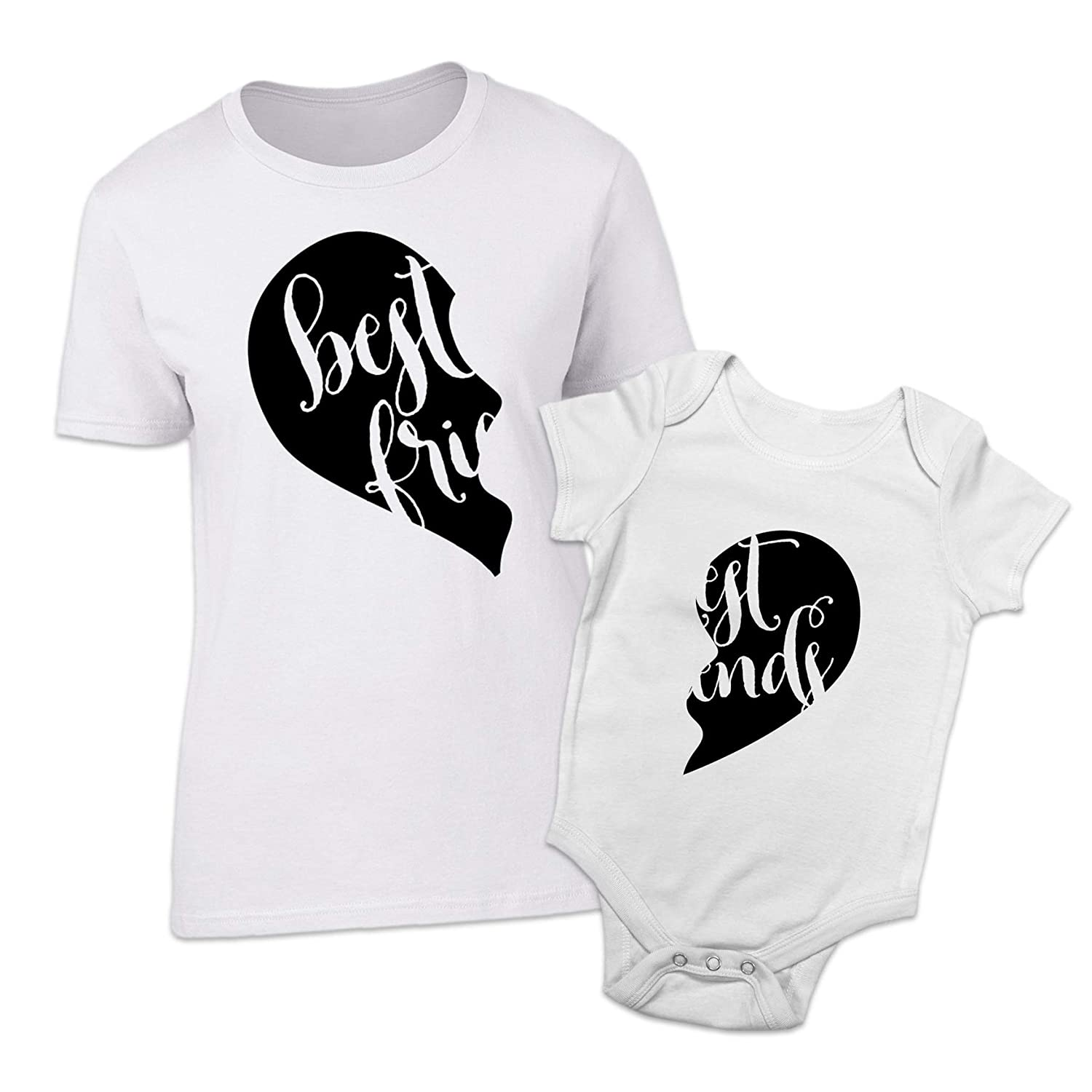 Shopagift Bestest Friends Mother and Baby Matching Outfits