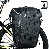RHINOWALK Waterproof 25L Bicycle Bag Bike postman saddlebag Pannier Bag Shoulder bag. Two