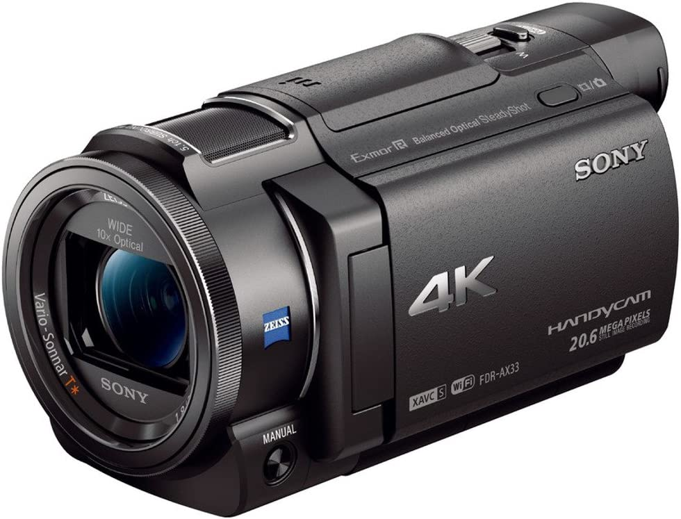 Sony FDR-AX33 Videocamera 4K Ultra HD