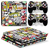 GoldenDeal PS4 Pro Skin and DualShock 4 Skin – Collage Hoonigan – PlayStation 4 Pro Vinyl Sticker for Console and Controller Skin