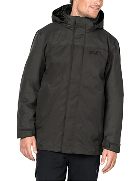 : Jack Wolfskin Men's Echo Lake Jacket, Pinewood