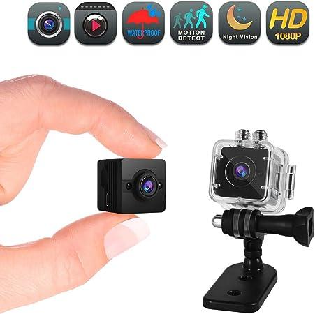 Mini Camara Espia Real HD 1080P Visión Nocturna Video detección de movimiento